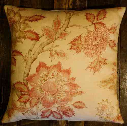 Colefax & Fowler Darsham Pink / Red 50 * 50cm